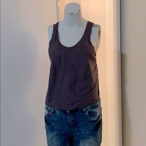 Aritzia Wilfred top with cross back